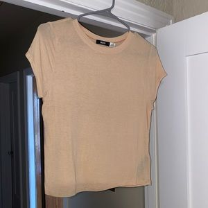 bdg sheer fitted t shirt